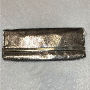 Silver clutch for a night on the town!